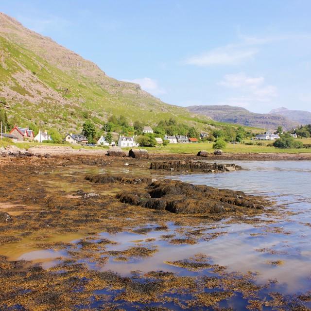 """Loch Torridon View"" stock image"