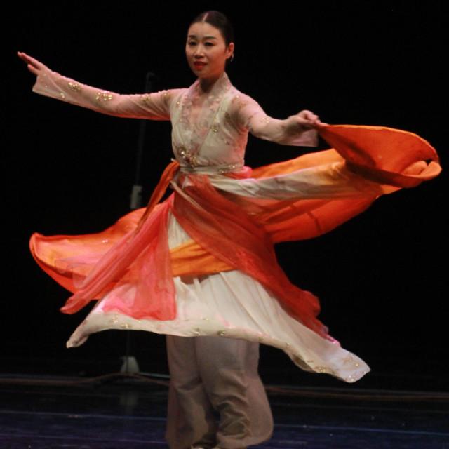 """dance in korea"" stock image"