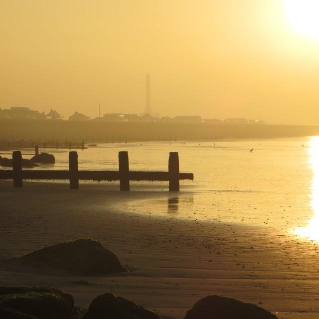 """""""September sunrise"""" stock image"""