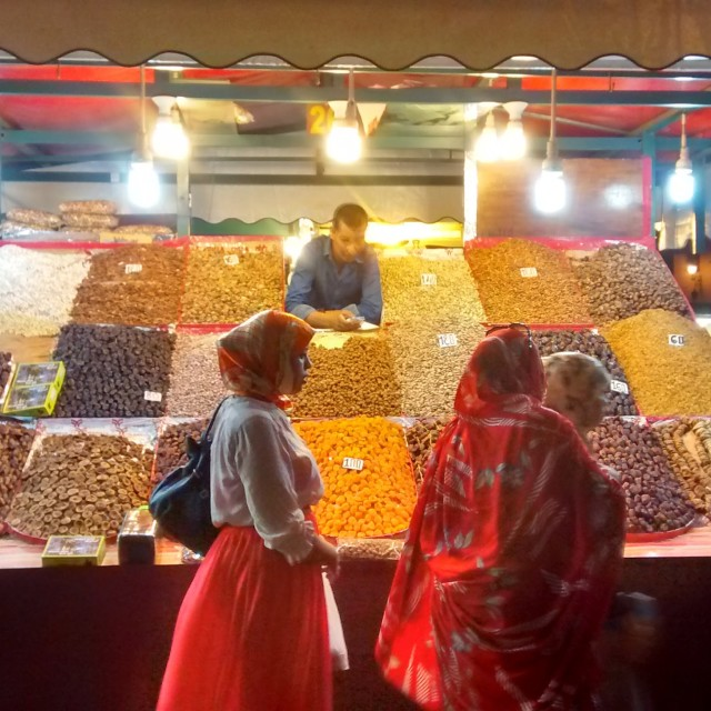 """Marrakech Market"" stock image"