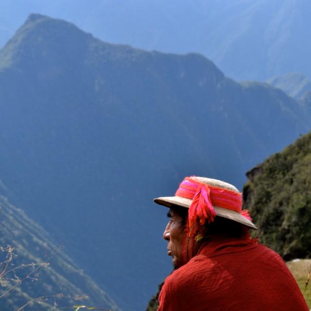 """Local Peruvian"" stock image"