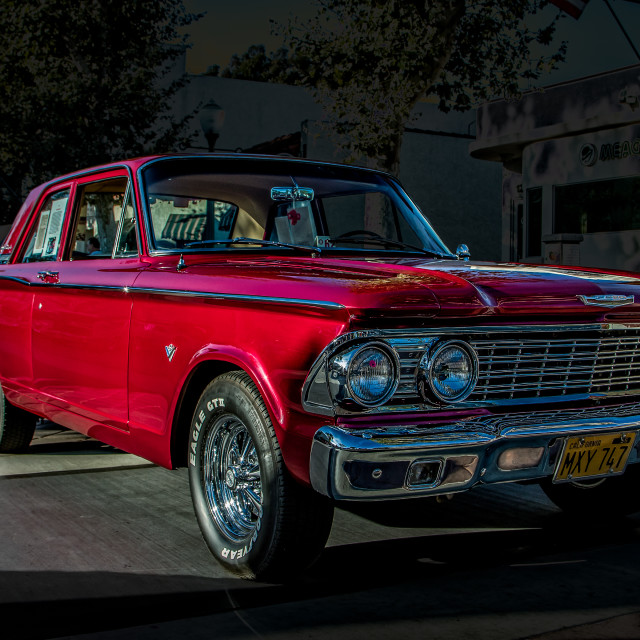 """1963 Ford"" stock image"