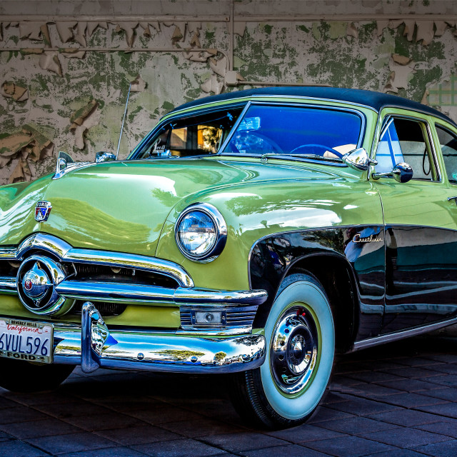 """""""1950 Ford Coupe"""" stock image"""