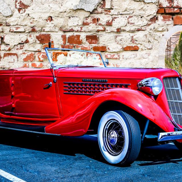 """1937 Auburn"" stock image"
