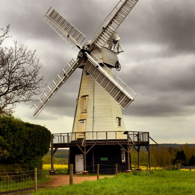 """Woodchurch Windmil"" stock image"