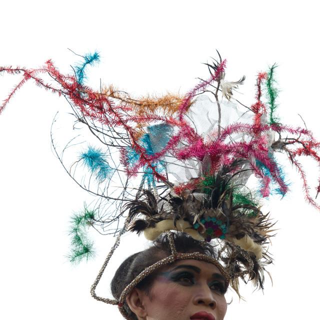 """""""Drag Queen Lombok"""" stock image"""