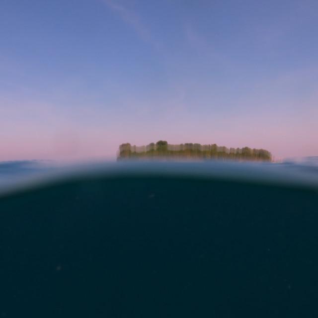 """Sangalaki Island"" stock image"