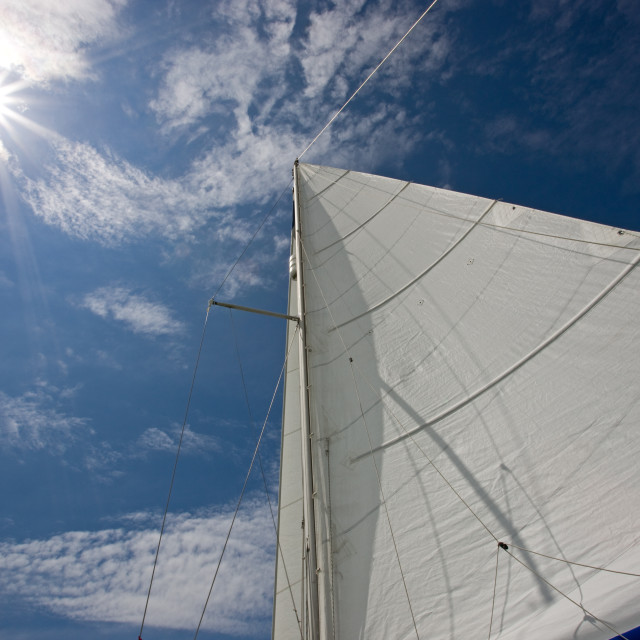 """Sun and Sails"" stock image"