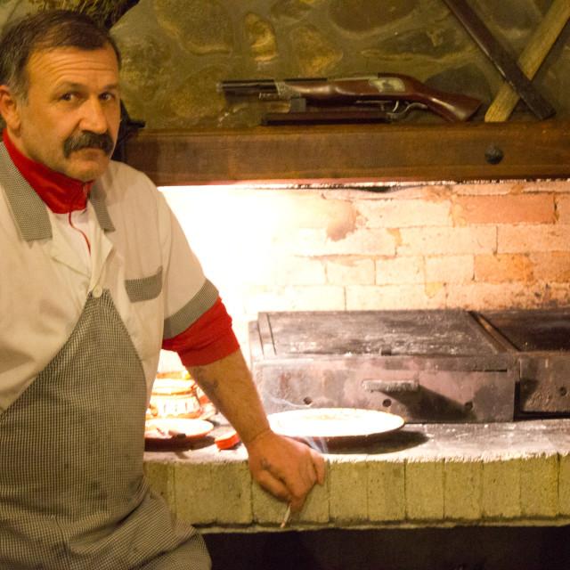 """""""Balkan Cook"""" stock image"""