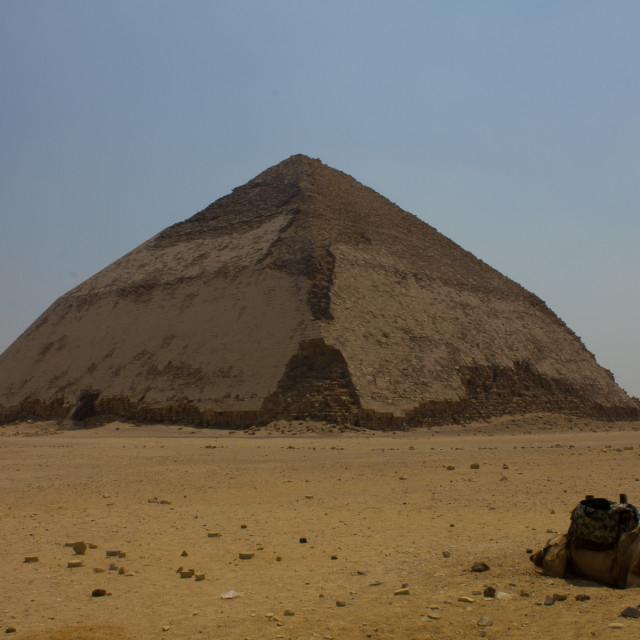 """""""Bent Pyramid"""" stock image"""