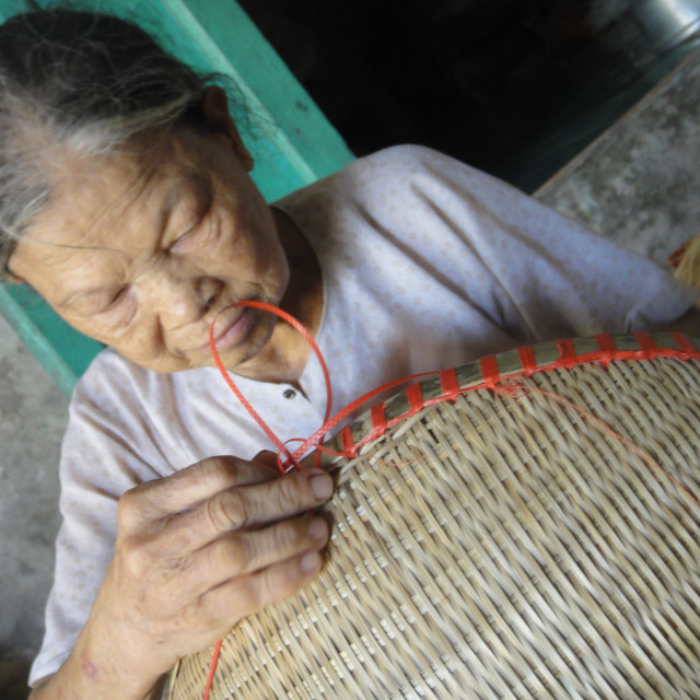 """Basket Weaving"" stock image"