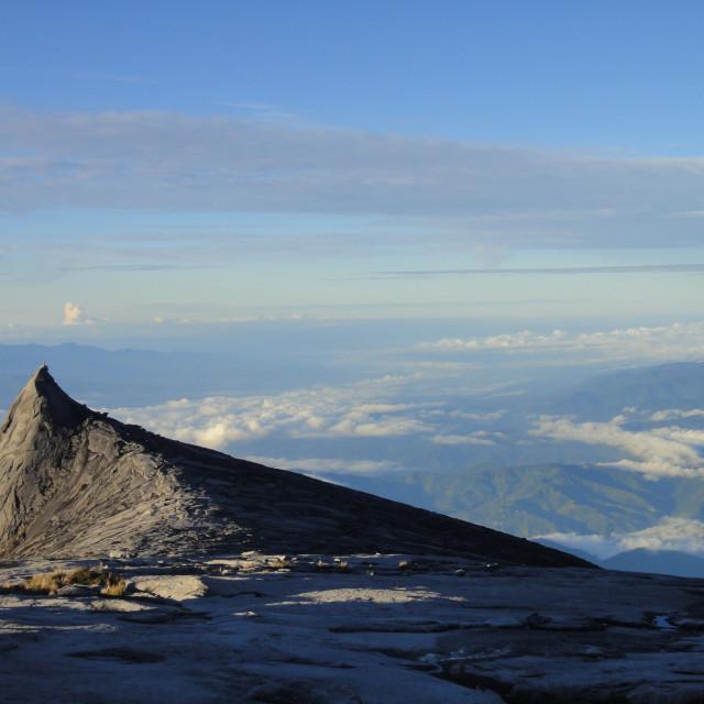 """""""Devil's Peak"""" stock image"""