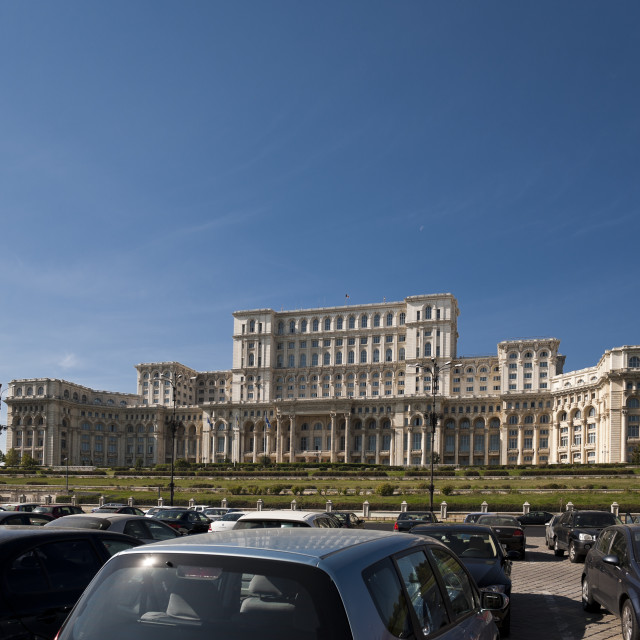 """Palace of the Parliament"" stock image"