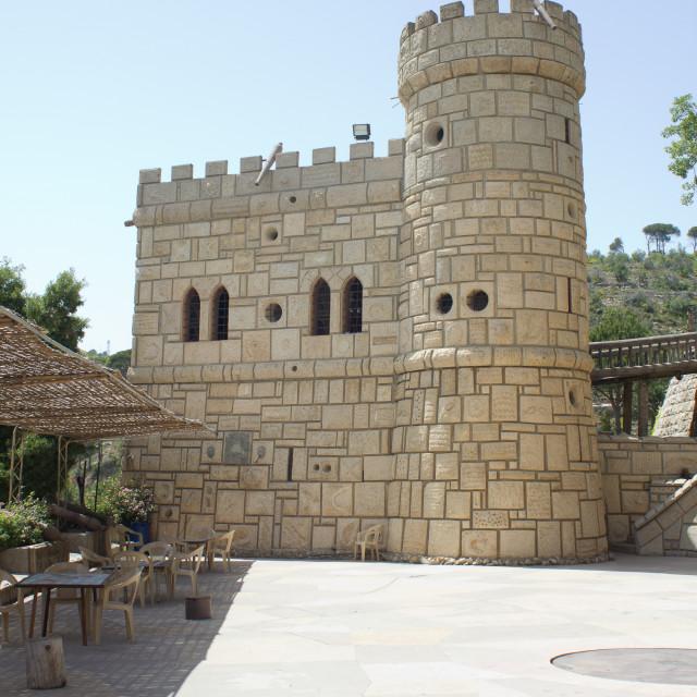 """""""Moussa Castle"""" stock image"""