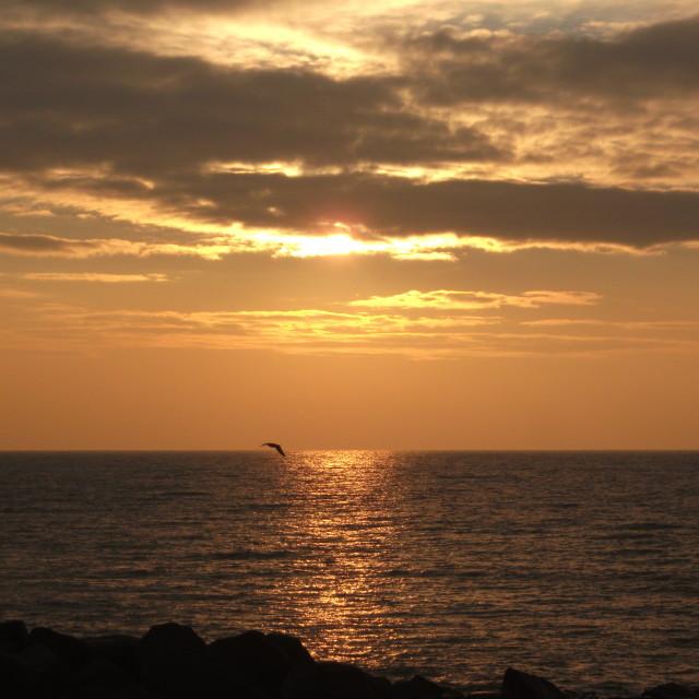 """""""2012 sunrise"""" stock image"""