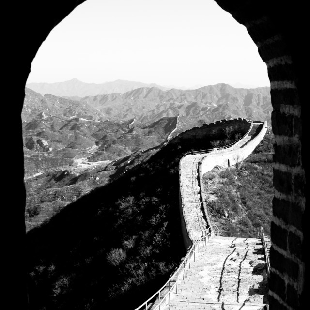 """Great Wall"" stock image"