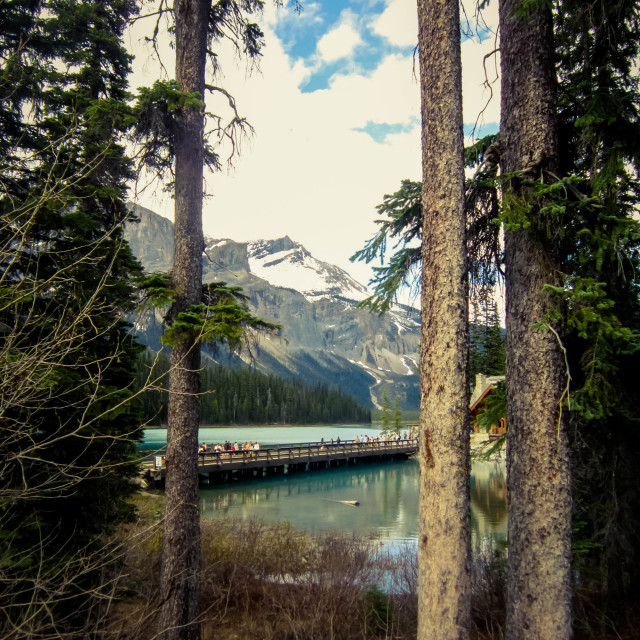 """Emerald Lake"" stock image"