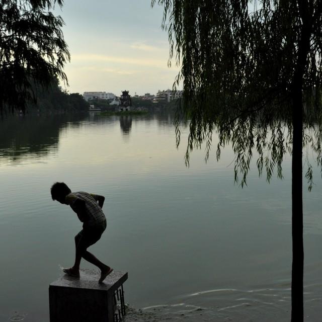 """After the rain, Hanoi"" stock image"