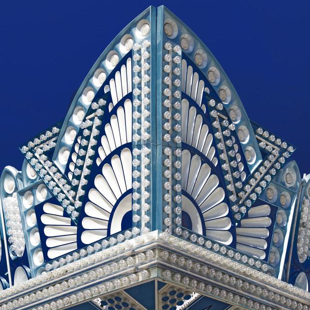 """""""Art Deco Facade"""" stock image"""