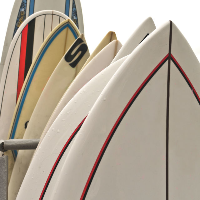 """Surf Boards"" stock image"
