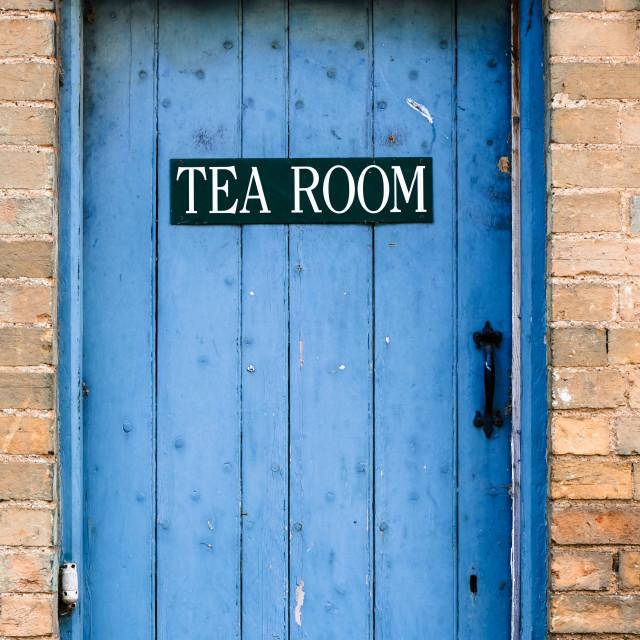 """Tea Room"" stock image"