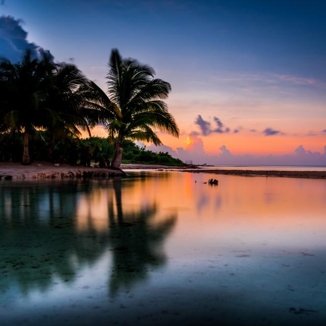 """""""Mexico Sunrise"""" stock image"""