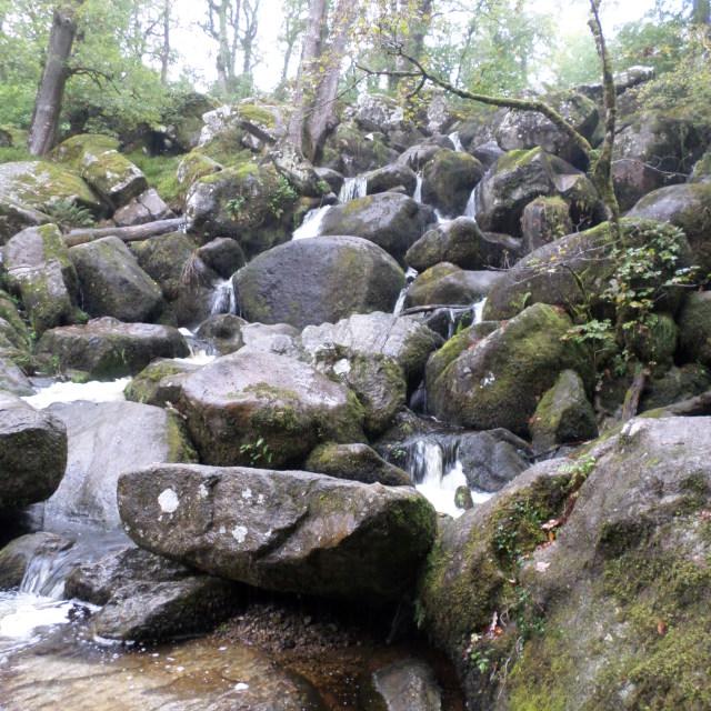 """Flowing Rocks"" stock image"
