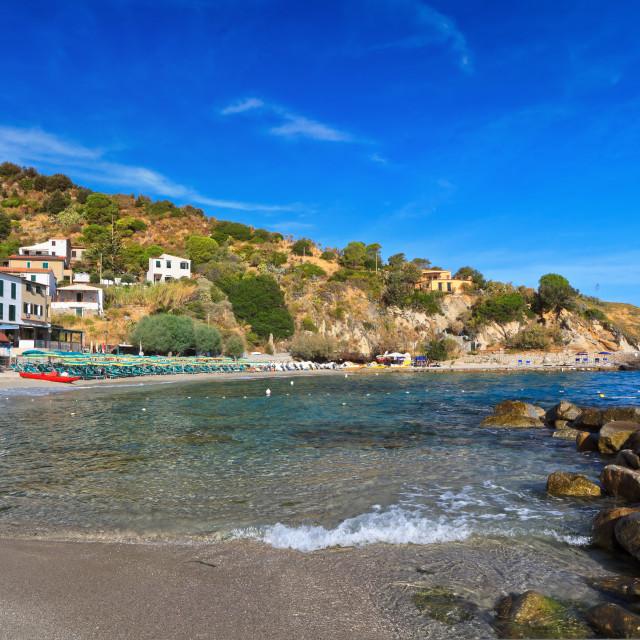 """San Andrea - Elba island"" stock image"