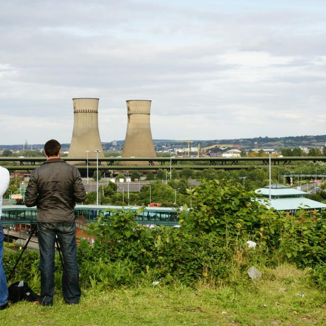 """Twin Towers Sheffield"" stock image"