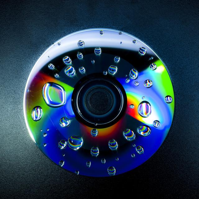 """CD Eyeball"" stock image"