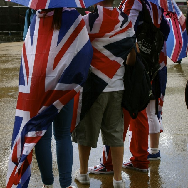 """British Weather"" stock image"