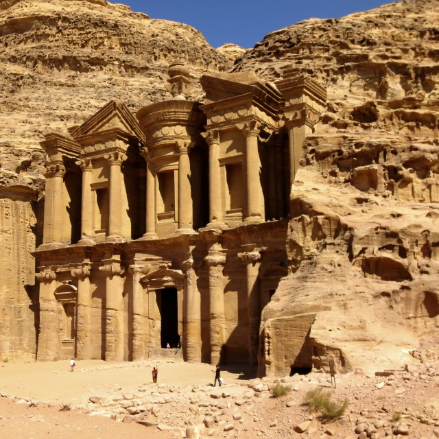 """Treasury, Petra"" stock image"