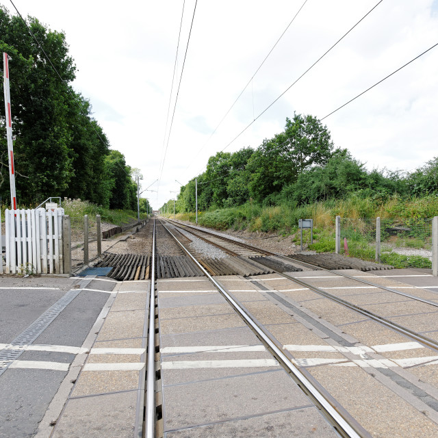 """Railway Track"" stock image"