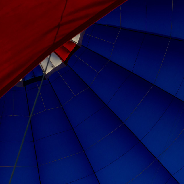 """Inside the Balloon"" stock image"