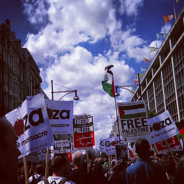 """Gaza March"" stock image"