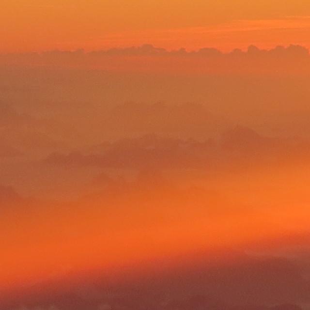 """""""Soft sunset"""" stock image"""