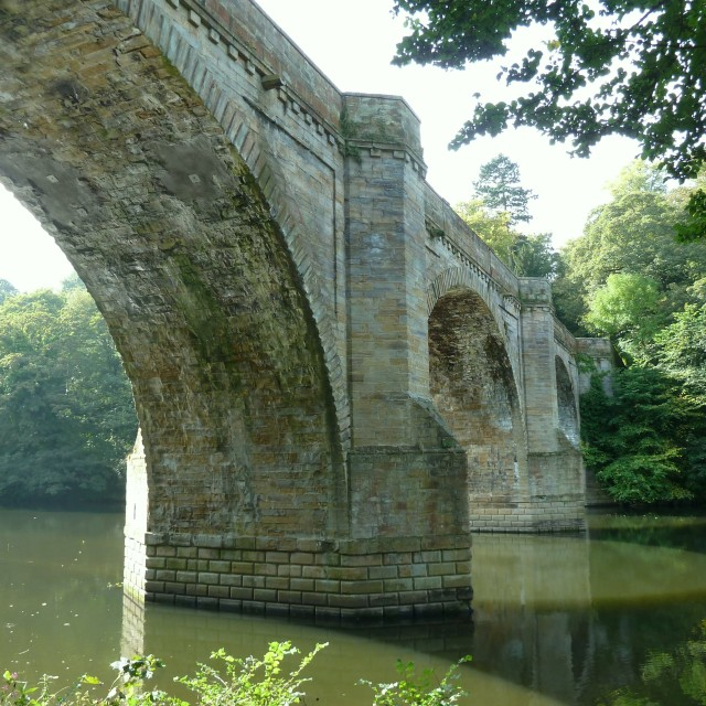 """Prebends Bridge Durham City"" stock image"