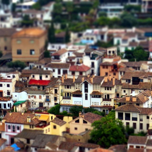 """""""Miniature Granada"""" stock image"""