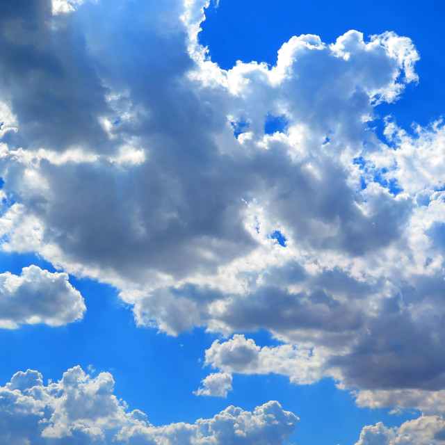 """""""Intense clouds"""" stock image"""