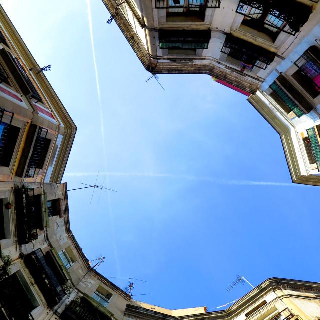 """Barcelona view"" stock image"