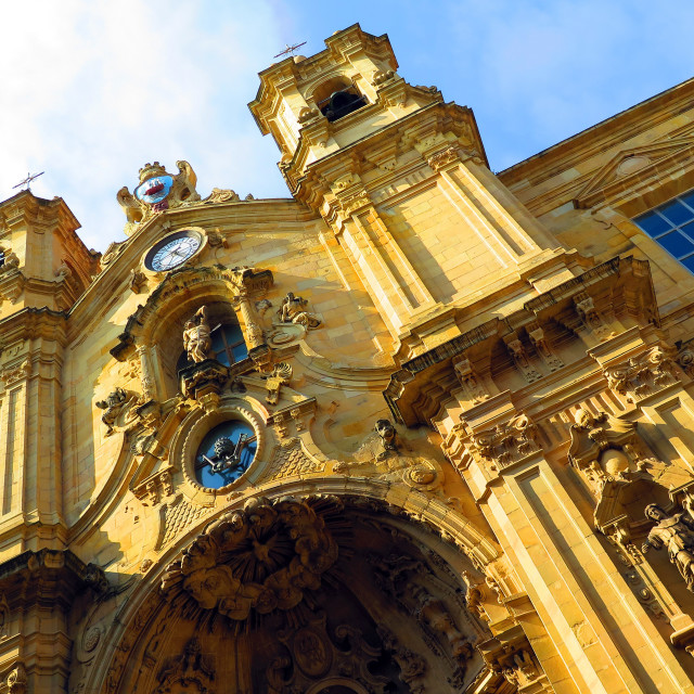 """Spanish Basilica"" stock image"