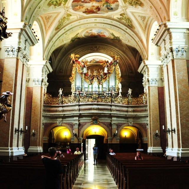 """""""Tihany Abbey"""" stock image"""