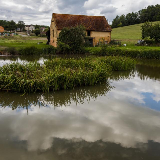 """Dordogne, France"" stock image"