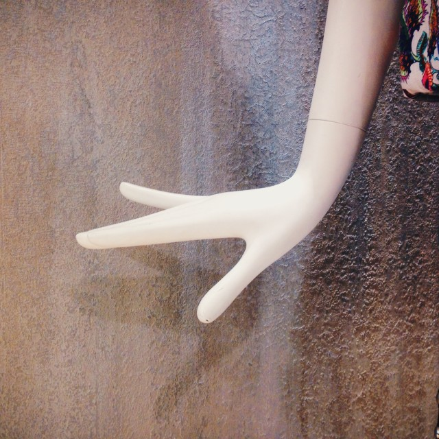 """Hand of a mannequin"" stock image"