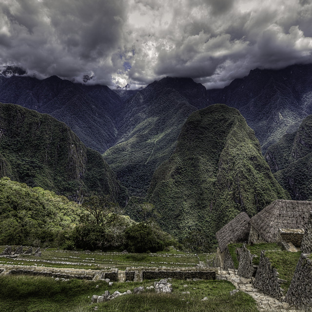 """Machu Picchucu"" stock image"