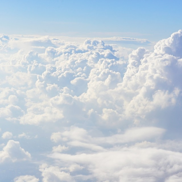 """Clouds 1 group2"" stock image"