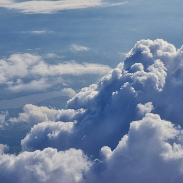 """Clouds 2 group 2"" stock image"