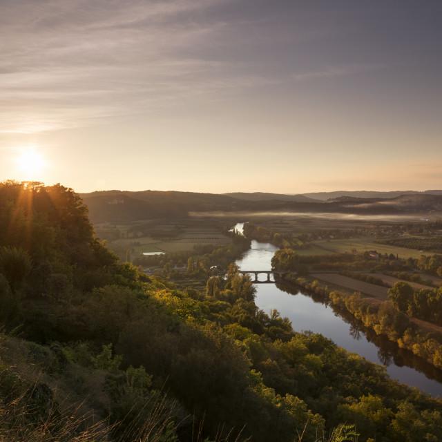 """The Dordogne"" stock image"