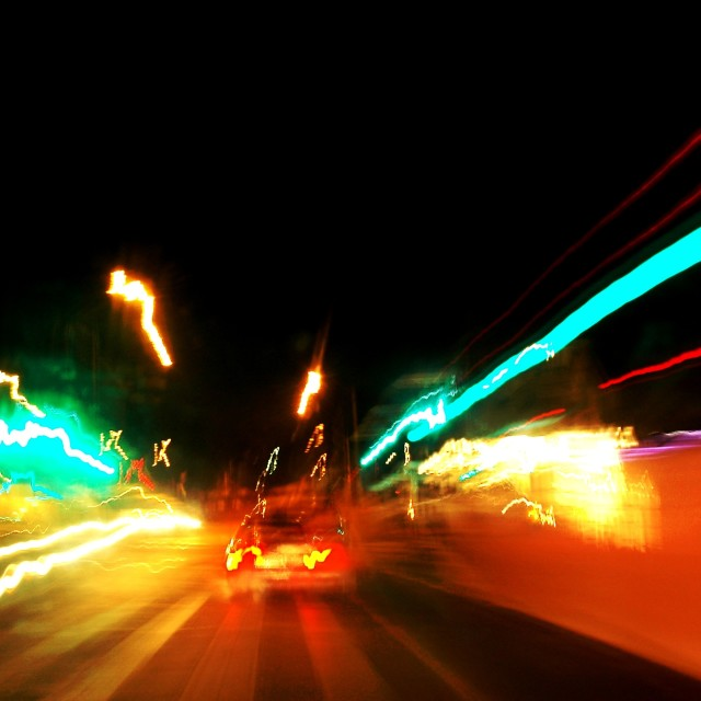 """Light traffic"" stock image"