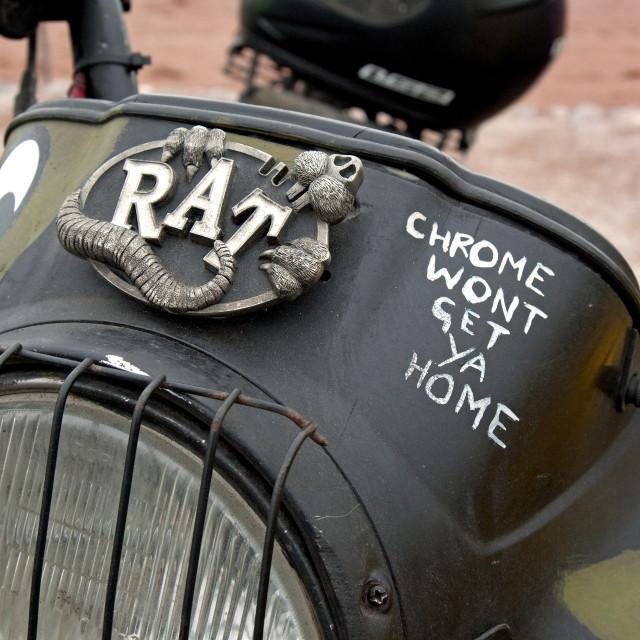 """Rat Bike"" stock image"